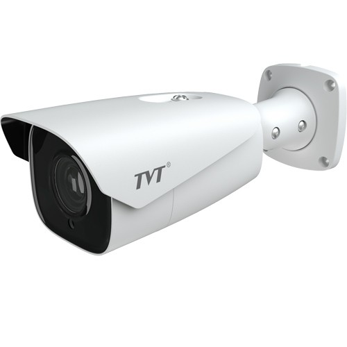 Tubular IP TVT 5Mpx (Motorizada 3,3 a 12mm )IR 70m con Análisis de video.SD