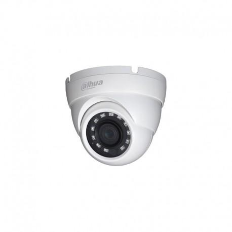 Domo Dahua 4en1 ( HDCVI, HDTVI, AHD, CVBS ) 1Mpx 720P IR30m 0Lux . Lente 2.8mm . Exterior