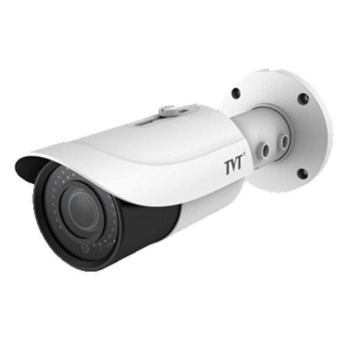 Cámara Tubular TVT 4Mpx IR50m Lente varifocal 3,3 a 12 mm