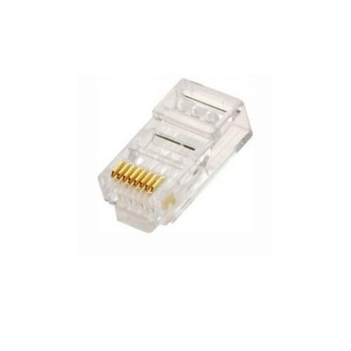 Conector RJ45 cat6E para cable de red